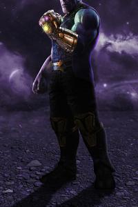 240x320 Thanos The Mad Titan4k