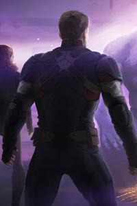 1080x2160 Thanos Vs The Avengers