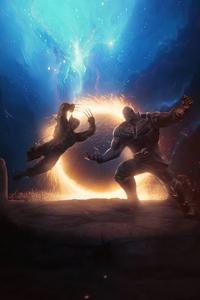 2160x3840 Thanos Vs Wolverine 4k