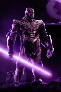 1125x2436 Thanos X Star Wars