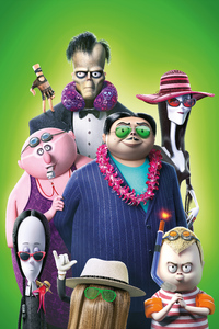 240x400 The Addams Family 2021 8k