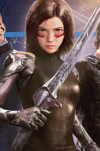 The Alita Battle Angel 2019 4k