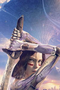 320x480 The Alita Battle Angel 2020