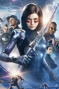 1440x2560 The Alita Battle Angel 4k New 2019