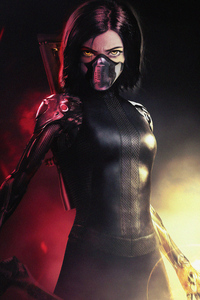 1280x2120 The Alita Battle Angel 4k New