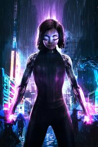 1280x2120 The Alita Battle Angel