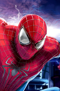 The Amazing Spiderman Paint Art