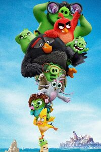 800x1280 The Angry Birds Movie 2 5k