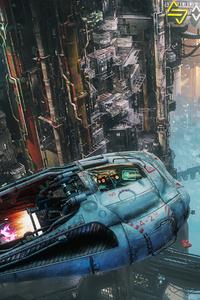 800x1280 The Ascent Scifi City 5k