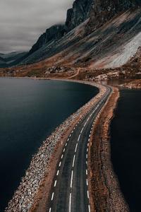 480x800 The Atlantic Road Norway 5k