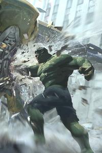 The Avengers Leviathan Vs Hulk