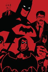 The Bat Family 4k