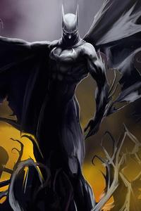 800x1280 The Bat Man 4k