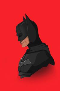 The Batman 2021 4k Minimalism