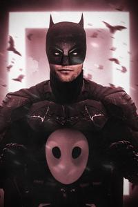 360x640 The Batman 2021 Bruce Wayne