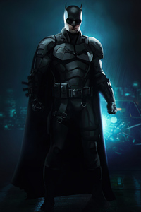 360x640 The Batman 2021 Poster