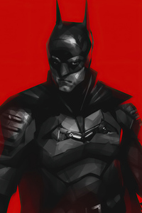 The Batman 2021 Red