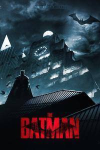 1440x2960 The Batman 2022 Fanart