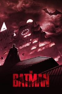 1440x2960 The Batman 2022 Movie Fanart