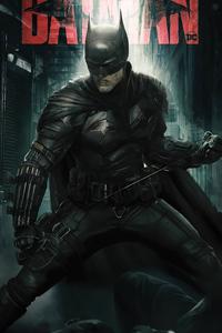 1440x2960 The Batman 2022 Poster