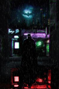 640x1136 The Batman Alleyway 4k