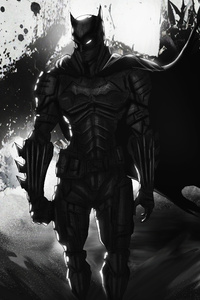 The Batman Artwork 2020 4k