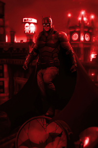 360x640 The Batman Artwork 4k
