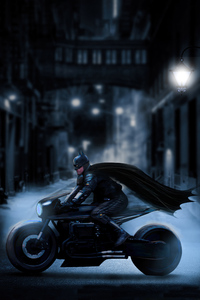 720x1280 The Batman Batcycle 2021
