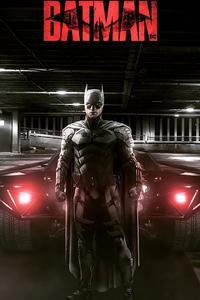 The Batman Batmobile 2021