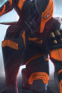 1080x2280 The Batman Deathstroke