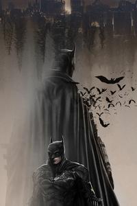 1440x2960 The Batman In Dust 4k