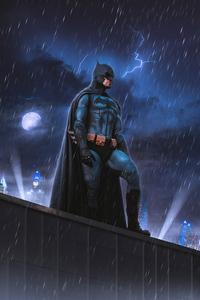 480x800 The Batman Lightning 4k