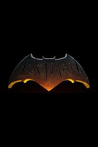 1080x2160 The Batman Logo Dark 5k