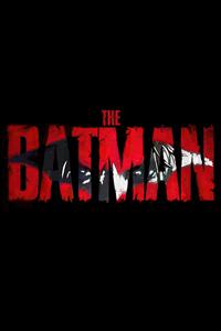 The Batman Movie Logo Dark 4k