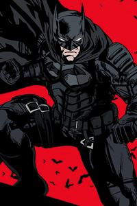 The Batman Pose 4k