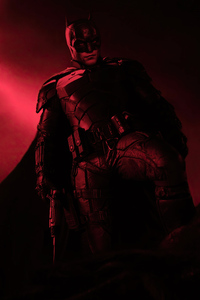 The Batman Red Day 4k