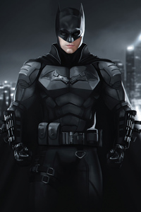 1440x2960 The Batman Robert 4k