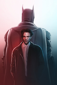 The Batman Robert Pattinson Art 4k