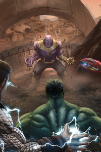 The Big 3 Vs Thanos