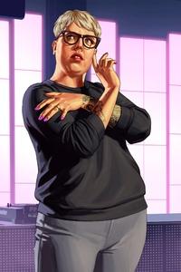 1440x2560 The Black Madonna Grand Theft Auto V Dlc