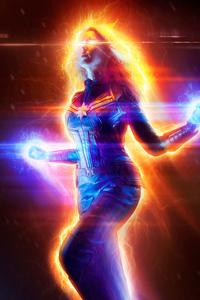 480x854 The Captain Marvel Cosplsy