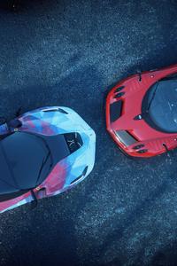 The Crew Pagani Huayra And Ferrari LaFerrari Face Off