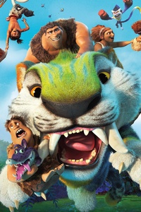 2160x3840 The Croods A New Age 12k