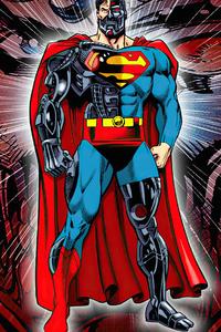 480x854 The Cyborg Superman 4k