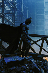 480x800 The Dark Knight Aftermath 4k