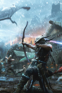 1440x2560 The Elder Scrolls Legends Heroes Of Skyrim