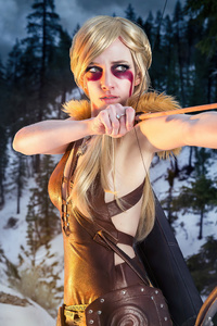 720x1280 The Elder Scrolls V Skyrim Cosplay