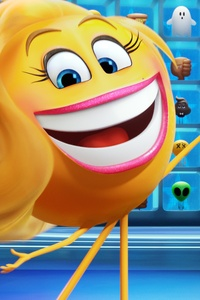 1125x2436 The Emoji Movie 2017