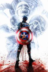 1125x2436 The Falcon And The Winter Soldier Captain America