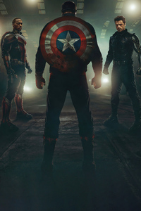 2160x3840 The Falcon And The Winter Soldier Heroes 5k